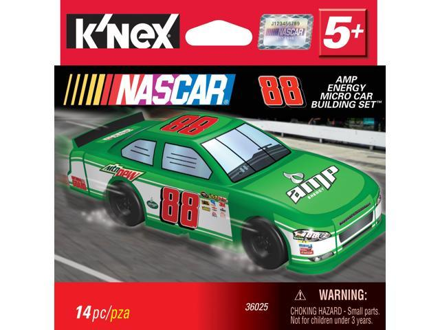 K'Nex NASCAR #88 AMP Energy Micro Car Building Set