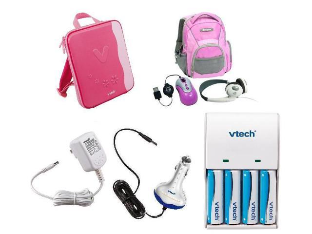 Vtech InnoTab Power and Travel Pack Accessory Bundle - Pink