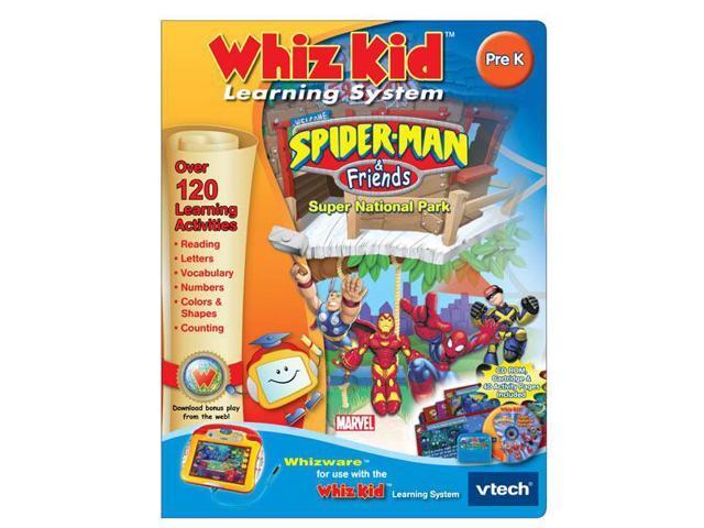 Whiz Kid CD - Spider-man & Friends: Super National Park