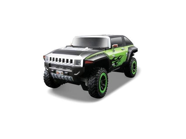 1:24 Maisto Hummer Hx Black/Green Remote Control Car