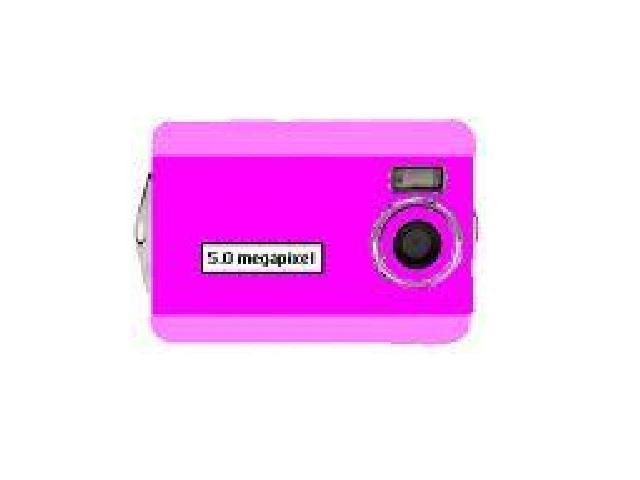 Digital Blue 5 Megapixel Digital Camera - Pink