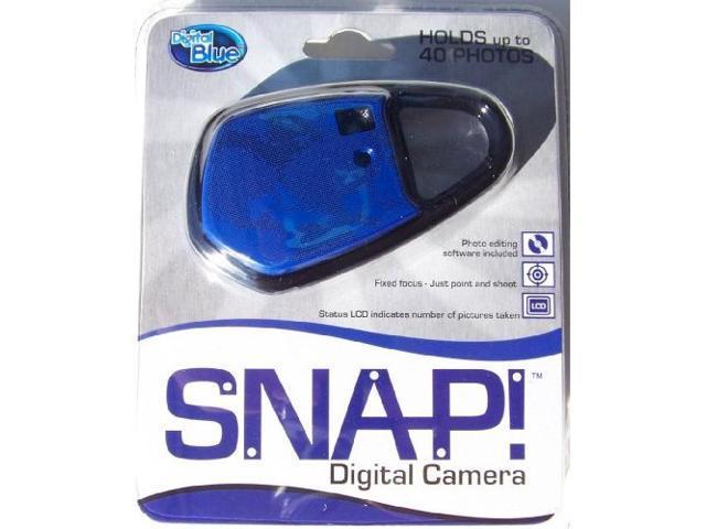 Digital Blue SNAP! VGA Carabineer Digital Camera - Blue
