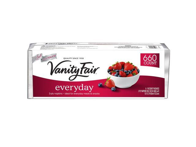 Vanity Fair Everyday Napkins - 2-Ply - 660 ct.