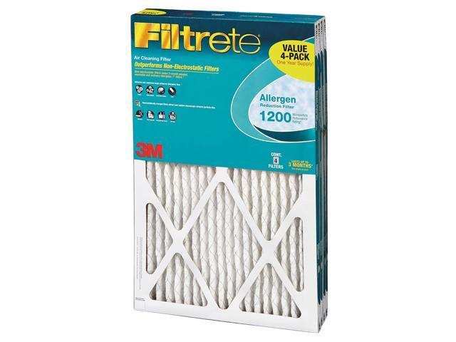 Filtrete Allergen Reduction Filter 4-Pack - 20