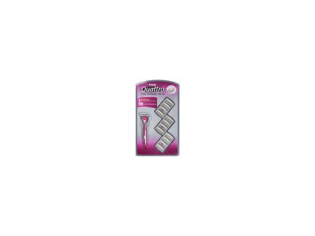 Quattro for Women Razor + 12 Cartridges