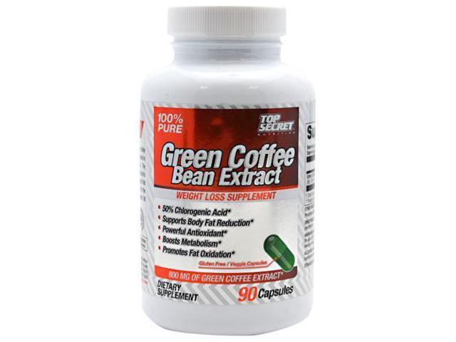 Green Coffee Bean Extract - Top Secret Nutrition - 90 - Capsule