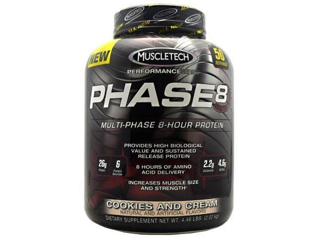 MuscleTech Phase 8 Cookies and Cream - 50 servings