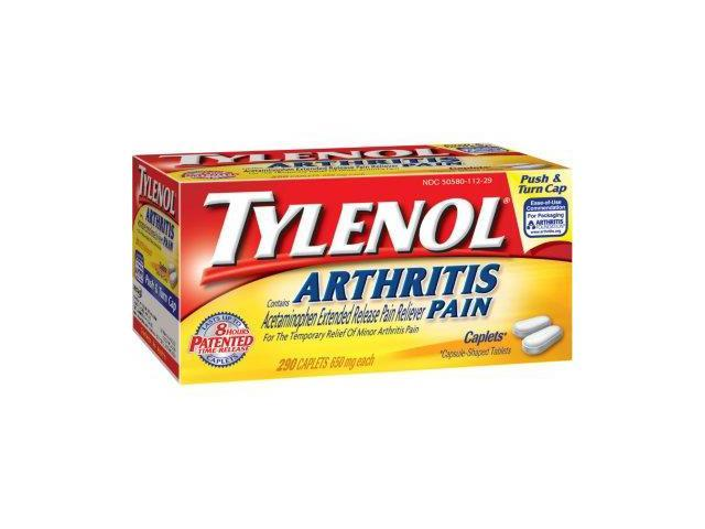 Tylenol Arthritis-Acetaminophen Pain Reliever 650mg, 290ct