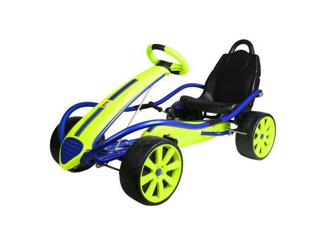 Kettler Sport Kid Racer Pedal Car Blue Yellow