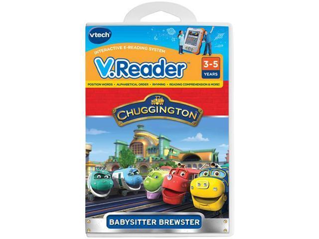 Vtech V.Reader Animated E-Book Reader - Chuggington
