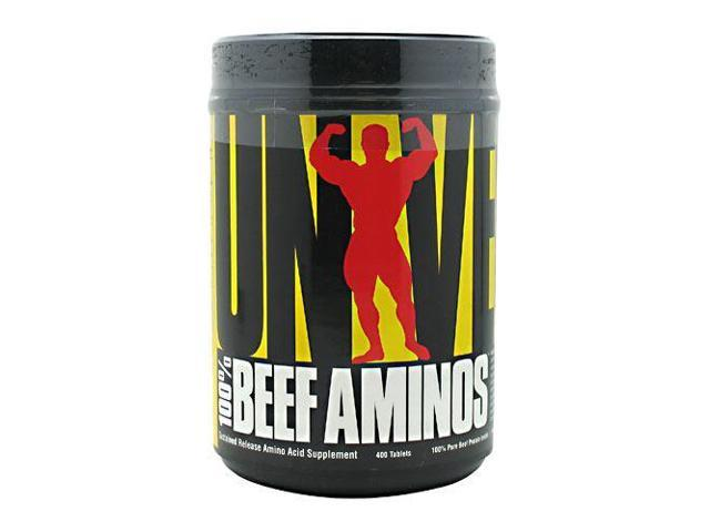 Beef Aminos, 400 Tablets, From Universal Nutrition