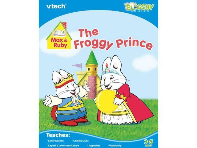 Vtech Bugsby Reading System Book: Max & Ruby