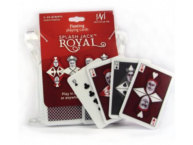 Splash Jack Royal Floating Playing Card Game