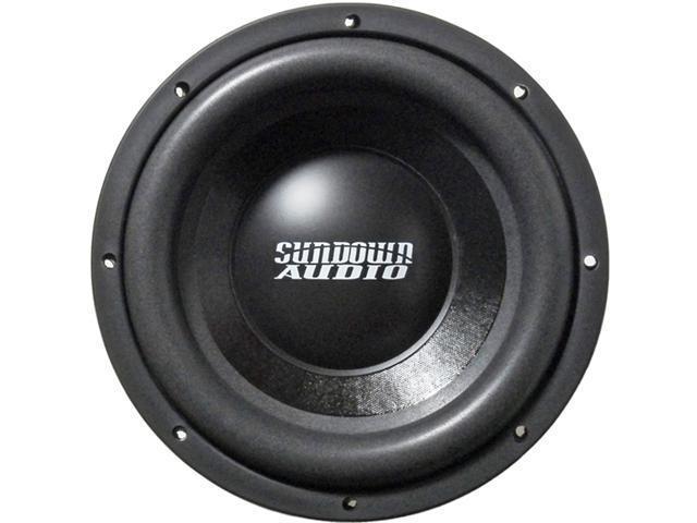 Sundown Audio SA-10 D4 Dual 4 Ohm 600 watt Car stereo subwoofer