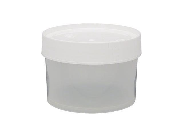 Nalgene Straight Side Wide Mouth Jar: 16oz~ Clear