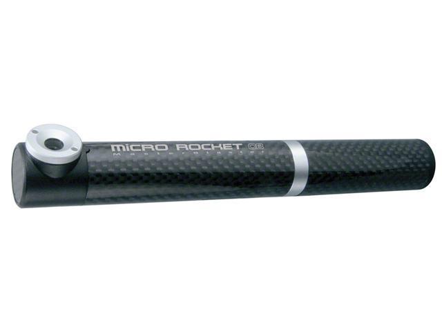 Topeak Micro Rocket Master Blaster Frame Pump: Carbon