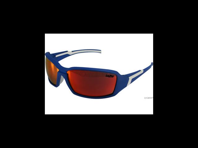 Lazer Xenon 1 (X1) Sunglasses: Matte Blue/White