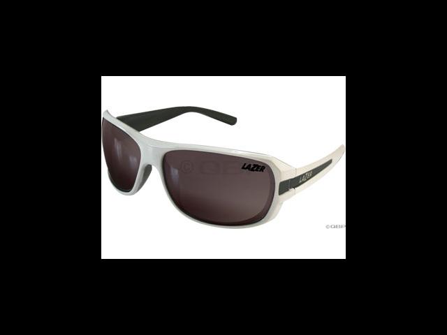 Lazer Quantum 1 (Q1) Sunglasses: Gloss White/Gray