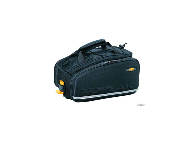 Topeak MTX TrunkBag EXP Rack Bag: Black