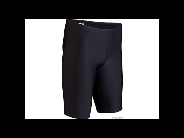 TYR Durafast Elite Swim Jammer: Black, Size 30