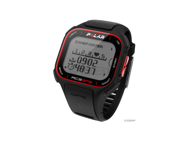 Polar RC3 GPS Fitness Computer: Black
