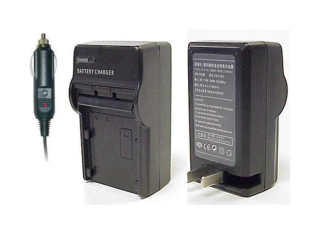 Casio NP40 NP-40 Battery AC Home & DC Car Charger For EX-P600, EX-Z57, QV-Z30, Z40, Z50, Z55, Z750, P700