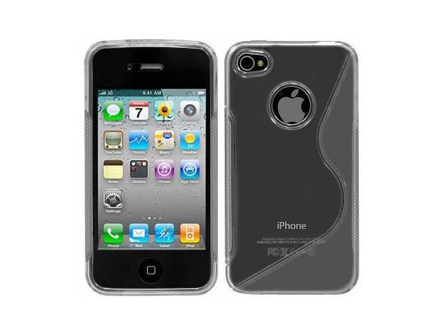 Apple iPhone 4 & 4S Clear S Flexi Case