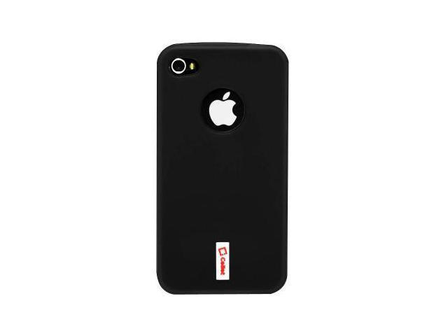 Cellet Apple iPhone 4 & 4S Black Flexi Case