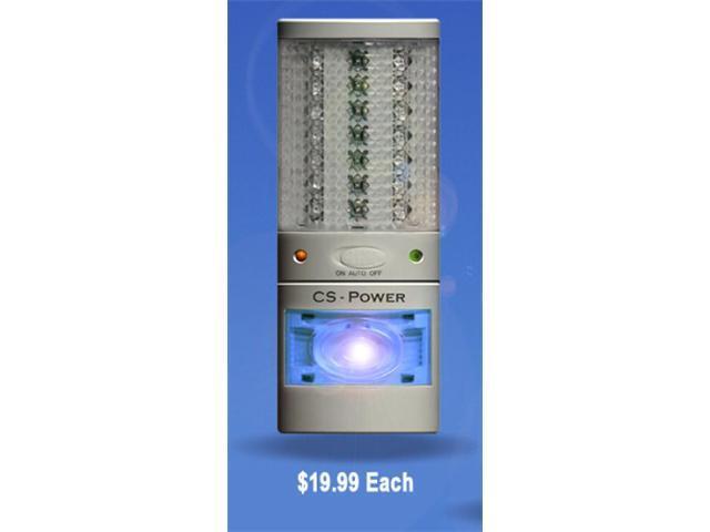 Emergency Power Failure Light - Flashlight - Night Light - Single - Lite Saver.