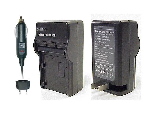 CS Power EN-EL15 Compact AC & DC Battery Charger For Nikon D7000, D600, D800, D800E DSLR and Nikon 1 V1 Digital Camera
