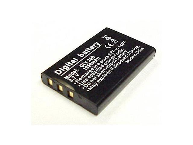 CS Power Li-20B Li-ion Battery For Olympus Li-20b, Fuji NP-60 & Kodak 5000 equilvalent battery pack
