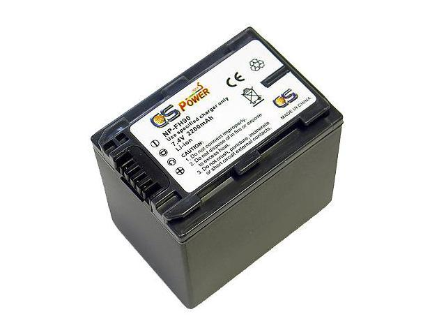 CS Power NP-FH90 Replacement Li-ion Battery For Sony HDR-CX520VE HDR-CX6 HDR-CX6EK HDR-CX7 HDR-CX7K/E HDR-HC3 HDR-HC3E HDR-HC3HK1 HDR-HC5 HDR-HC5E HDR-HC7 HDR-HC7E HDR-HC9 HDR-HC9/E HDR-HC9E HDR-SR10