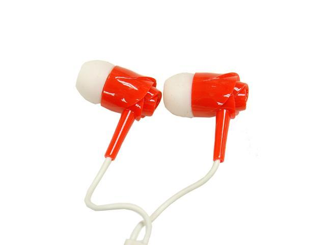EV-050 3.5 mm Stereo Red Headset For iPhone , Android , Windows Phone