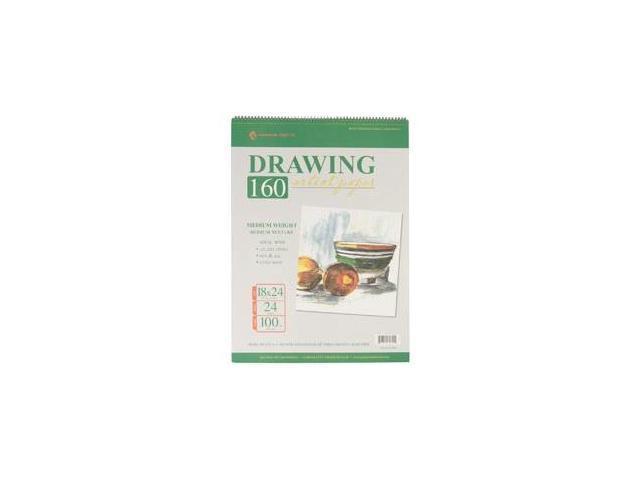 Drawing Pad 100# 24 Sheets/Pkg-24