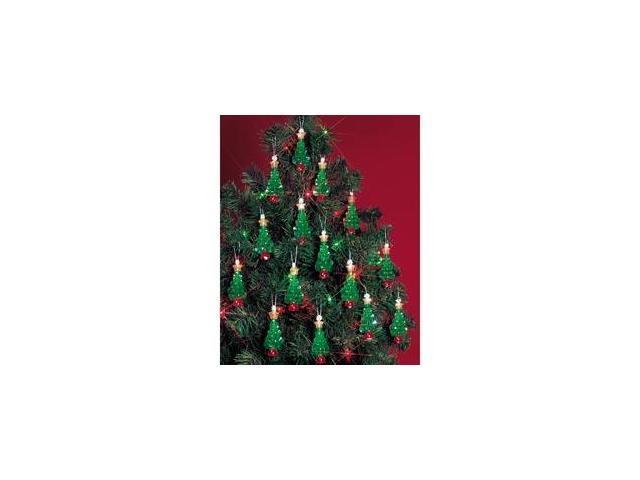 Holiday Beaded Ornament Kit-Mini Trees 2-1/4