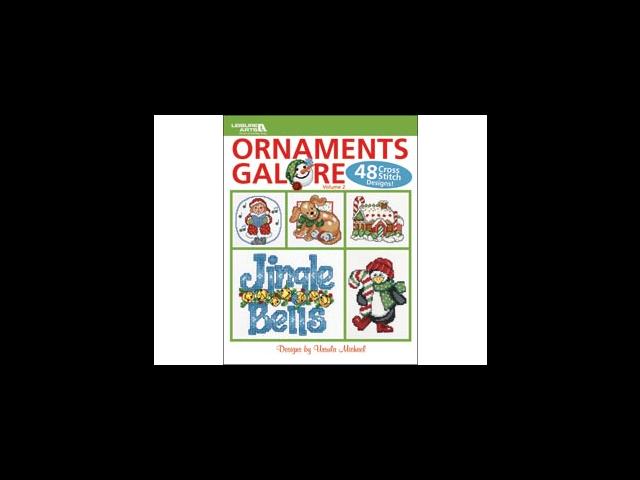 Leisure Arts-Ornaments Galore; Volume 2