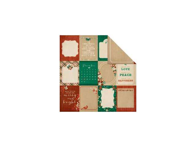 Holly Bright Double-Sided Cardstock 12