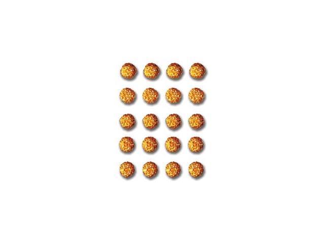Twinkle Goosebumps 20/Pkg-Orange