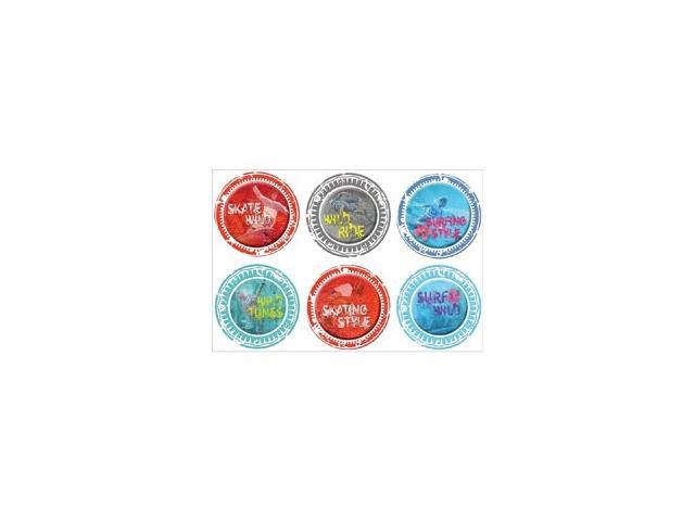 Wild At Heart Clear Stickers 4