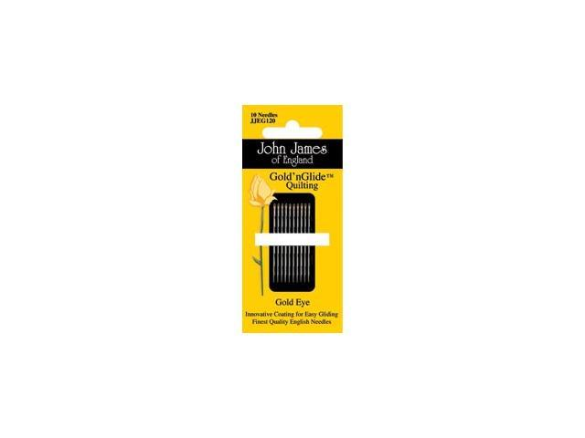 Gold'n Glide Quilting Needles  -Size 10 10/Pkg