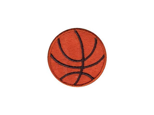 Wrights Iron-On Appliques-Basketball 1-1/2