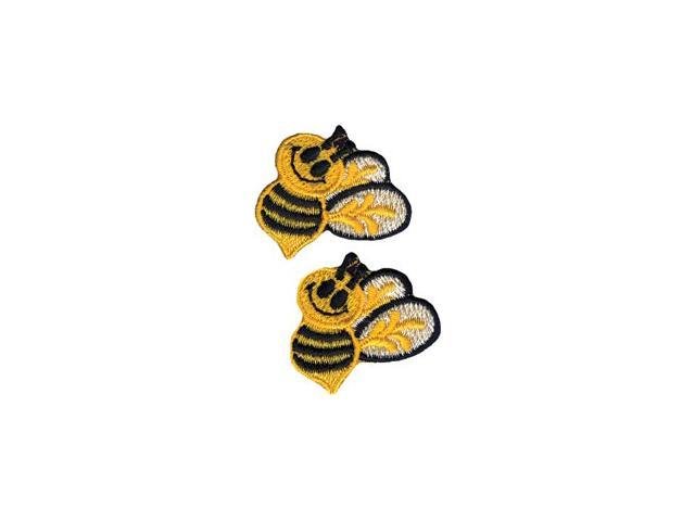 Wrights Iron-On Appliques-Bumble Bees 1
