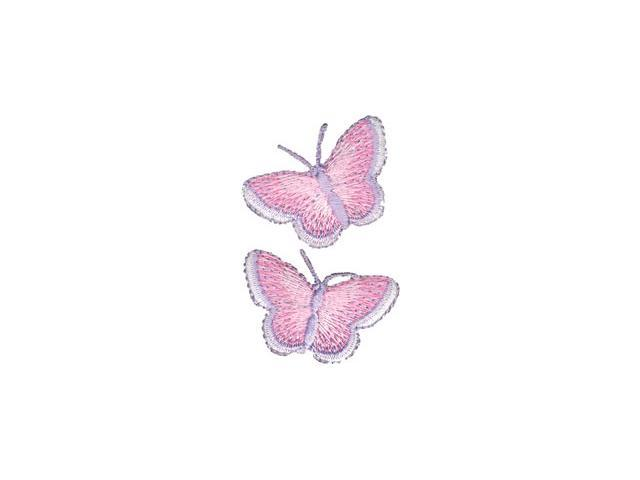Wrights Iron-On Appliques-Butterfly 1