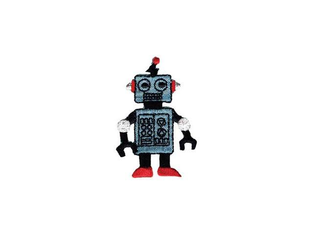 Wrights Iron-On Appliques-Robot 1-1/4