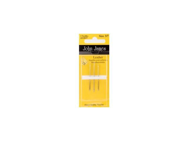 Leather Hand Needles-Assorted 3/Pkg