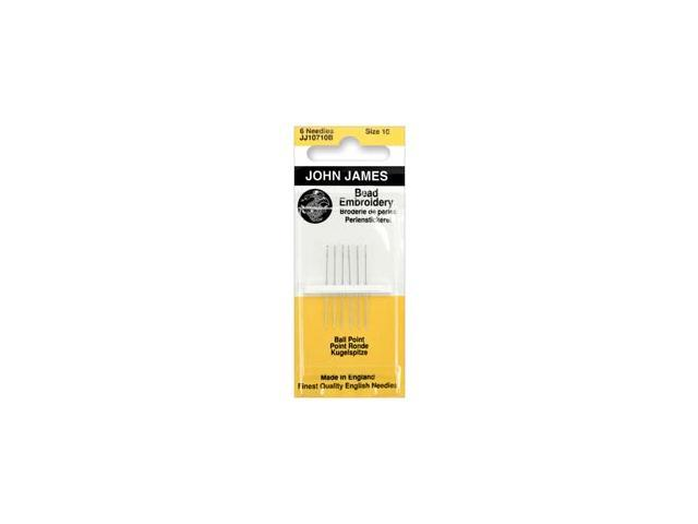Bead Embroidery Hand Needles-Size 10 6/Pkg