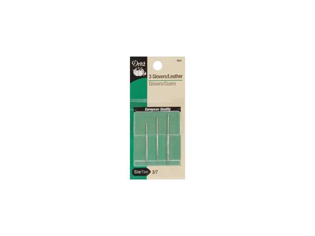 Glovers/Leather Hand Needles-Size 3/7 3/Pkg