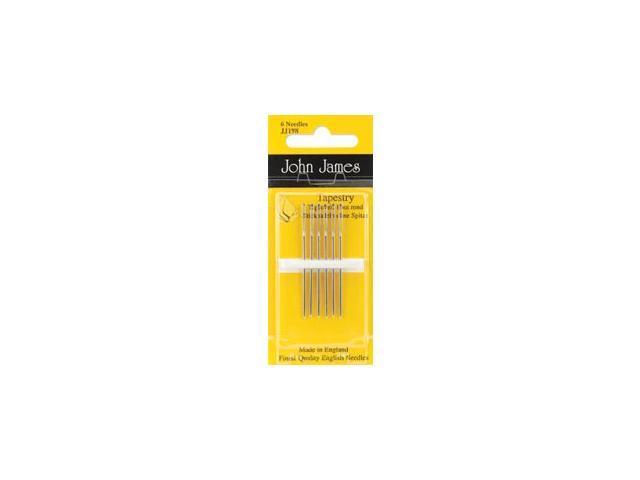 Gold Tapestry Hand Needles-Size 26 3/Pkg