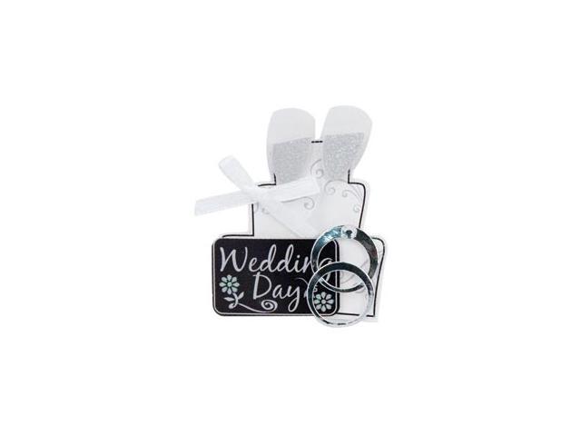 Wedding Lil' Stacks 3-D Sticker-