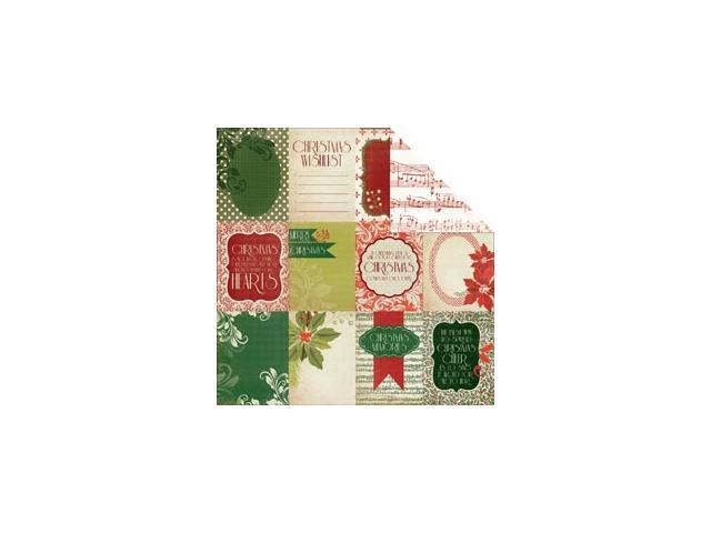Christmas Carol Double-Sided Cardstock 12